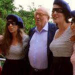 """""""Lopette"""" : plainte contre Les Brigandes, groupe de musique proche de Jean-Marie Le Pen"""
