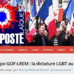 Plainte pénale contre Riposte Laïque pour injure et incitation à la haine LGBTphobes